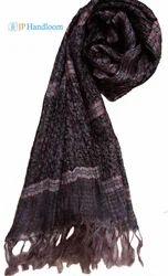 Tussah Silk Designer Stole