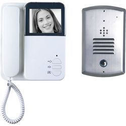 Black Led Video Door Phone, 7.2, Screen Size(Inch): 6 Inch
