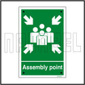591689 Assemble Point Instruction Name Plates