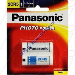Panasonic 2cr5 6v Lithium Photo Batteries