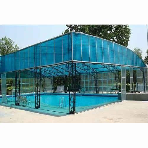 Fiberglass Swimming Pool Shed At Rs 220 Square Feet New Fibre House