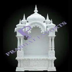白色Makrana大理石寺庙,为家