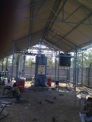 Stainless Steel Solvent Recovery Plant Fabrication Service, Minimum