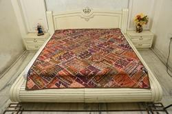 Handmade Embroidered Quilt