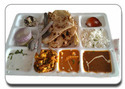 Special Thali With Sweet Dish
