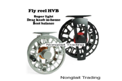 Super light fly reel HVB Size