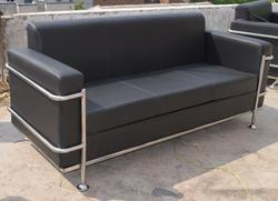 3 Seater United Steel Sofa