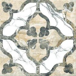 Marble Medallion Floor Tile