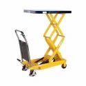 Easy Move Hydraulic High Scissor Lift Table