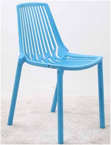 Polypropylene Plastic Stackable Chair, Size: 795 x 465 x 560 mm