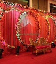 Wedding Stage Decoration Flower Stage Decoration Service Provider