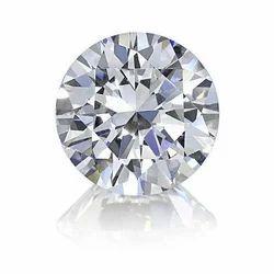 Brilliant Cut Real White Round Diamond