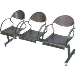 Metal Three Seater Visitor Chairs