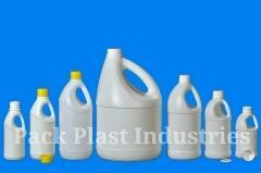 HDPE Side Handled Bottle