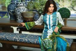 Printed Embroidered Pakistani Suits