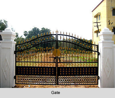 Compound Wall Gate View Specifications Details Of Decorative