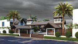 Kevalam Valley Resort Elegant Entrance