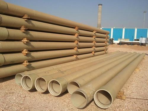 GRP Pipe, ग्रुप पाइप, Pvc, Frp, Hdpe & Other Plastic Pipes