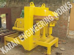 Rotary Type Fly Ash Brick Making Machine