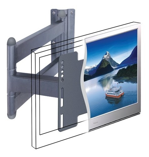 Direct Pitch Stretch & Swivel Wall Mount for 26