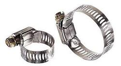 Silver Metal hose clips