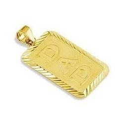 Men''s Gold Pendant, Men's Gold Jewellery | Cross Cut Road