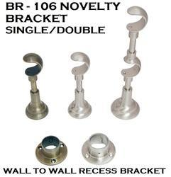 Double Curtain Bracket
