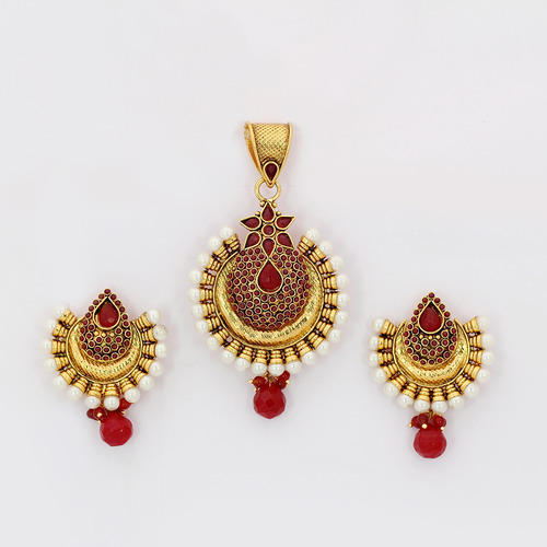 Antique pendant sets at rs 1362 units malad west mumbai id antique pendant sets mozeypictures Gallery