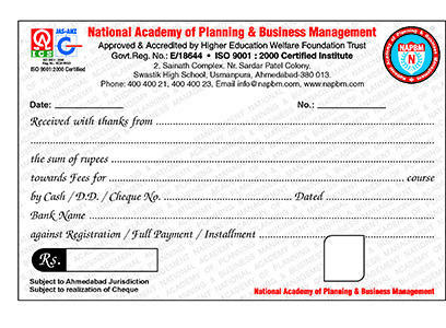 Receipt Book Printing Services in Ahmedabad, Kalupur by Crystal ...