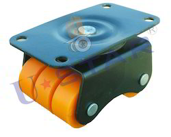 Delrin Bearing Moving Sixer Wheel Caster