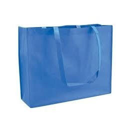 Blue Plain Non Woven Bag 225f3a4e76db6