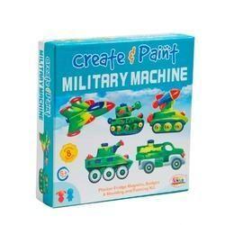 Create & Paint Military Machine