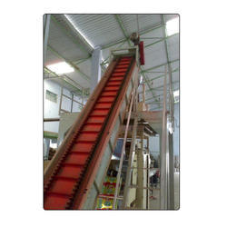 Side Wall Cleated Inclined Belt Conveyor