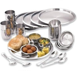 KUNAL Stainless Steel 36 Pcs Dinner Set, for Home