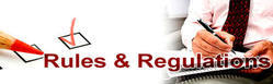 Rules & Regulations Course