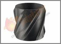 Zinc Spiral Vane Solid Rigid Centralizer