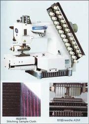 Multineedle Cylinder Bed 2 Chain Stitch Machine