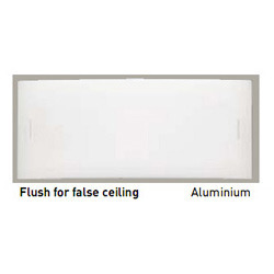 False Ceiling Aluminium Flush
