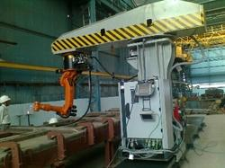 Robotic Wagon Welding System