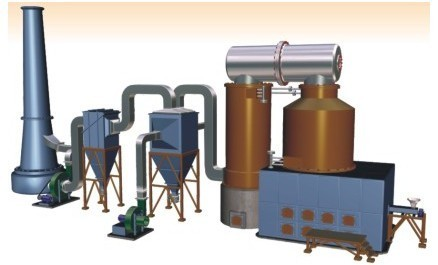 Exponent Mild Steel Solid Fuel Thermic Fluid Heater For