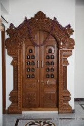 Pooja Room Doors Part 25