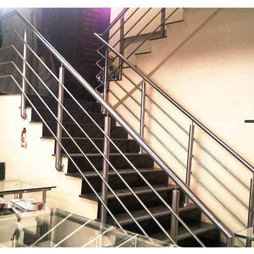 Cable Aluminum Stairs Railing In Ss