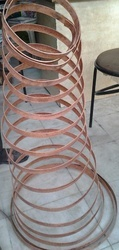 Copper Bonded Strip Round Coil 25 X 3mm
