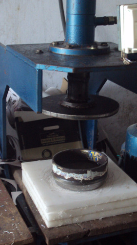 Semi Automatic Hydraulic Paper Punch Machine & Semi Automatic Hydraulic Paper Punch Machine at Rs 75000 /unit ...