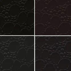 Black PVC Leather Cloth