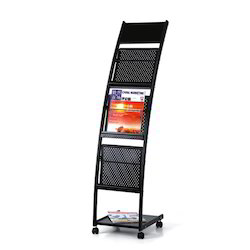 CraftDev Open Storage JH-1202 Magazine Display Rack, For Library