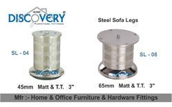 Steel Sofa Leg