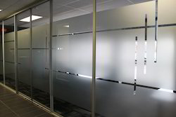 Self White Plain Frosted Film, Custmised, Packaging Size: 2mtr X 100 Mtr