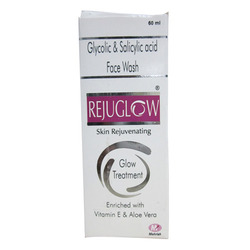 Gel Rejuglow Face Wash 100 ml, Age Group: Adults