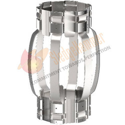 Stainless Steel Hinged Non Welded Bow Spring Centralizer